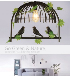 HH Natura 1-Light Creative Artificial Plants Pendant