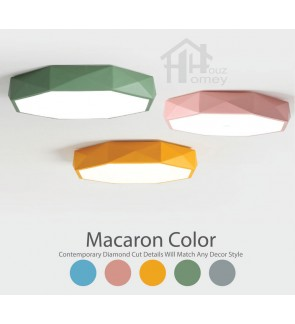 HH Colour-Pop Integrated LED Octagon Ceiling Flushmount