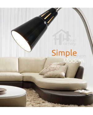 HH Minimalist 1-Light Flexible Metal Arm Floor Lamp