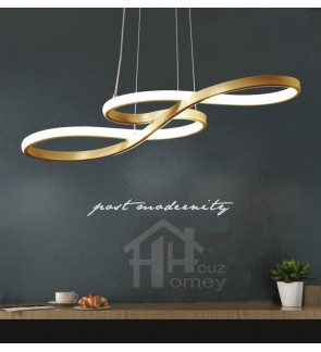 HH Minimalist Integrated LED Nordic Infinity Pendant