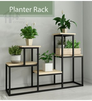 HH Ironico Metal Planter Rack