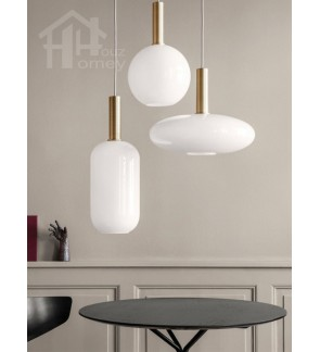 HH Metallic 1-Light Nordic Artistic Pendant