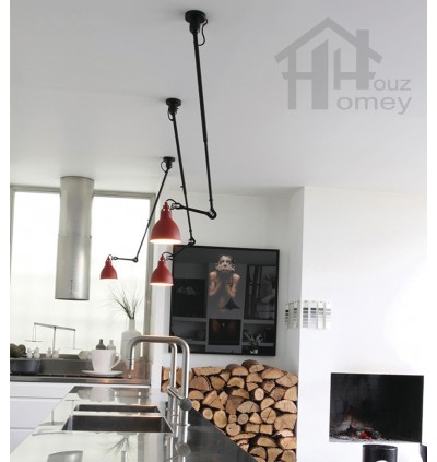 HH Retro Adjustable Swing Arm Pendant with 360 Degree Rotatable Arm