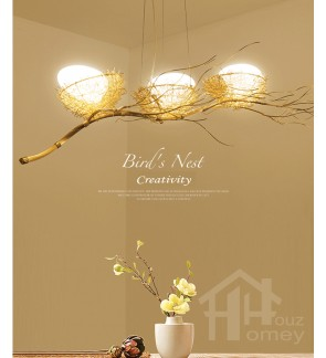 HH Natura Bird's Nest Decorative Pendant